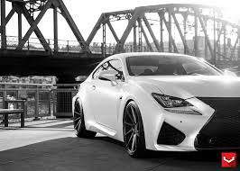 lexus rcf with turbo vossen vfs 2 on the lexus rcf lexus pinterest galleries and