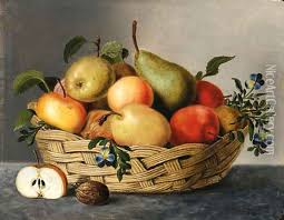 basket of fruit a basket of fruit painting reproduction by jan hendrik aikes
