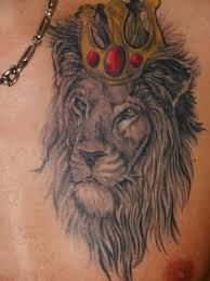 3d lion tattoos on chest lion king on chest for men lion king