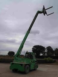 merlo 50 10 rotator telehandler 5t lift 10m reach 3364 hrs