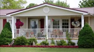 mobile home yard design audio program affordable porches for mobile homes youtube