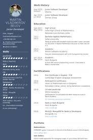 software developer resumes software developer resume sles visualcv resume sles database