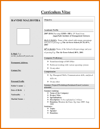 resume format free download resume template blank air freight jobs