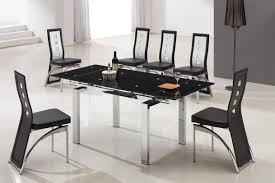 6 Seater Dining Table Design With Glass Top Chair Dining Room Table Best Modern Glass Set Also Remarkable