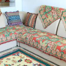 jet de canap coton chausub européenne épais canapé coton couvertures d hiver domicile
