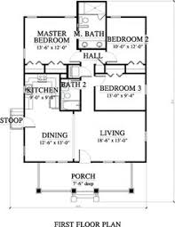 Contemporary Style House Plan 3 Beds 2 00 Baths 1155 Sq Ft Plan