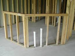 Basement Plumbing Rough In by Basement Finishing As An Owner Builder Save Money On Your