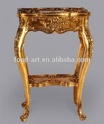 vintage gold side table 2604 european style antique gold side table china manufacturer buy