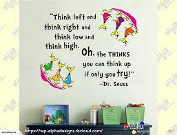 decal oh the thinks you can think dr seuss 1 trade me click to enlarge photo