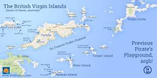map of the bvi island hopping the islands usvi to bvi whattodo vi