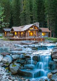 a rustic montana cabin on a private pond is for sale for 12