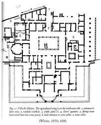 wine cellar floor plans floor plan of a roman villa part 2 house simple plans modern