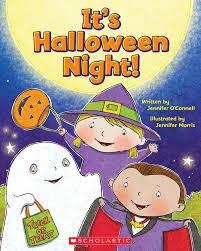 clifford halloween book it u0027s halloween night by jennifer o u0027connell scholastic