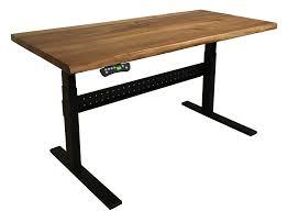 Adjustable Height Office Desks by Bainbridge Adjustable Height Desk Gingko Home Furnishings