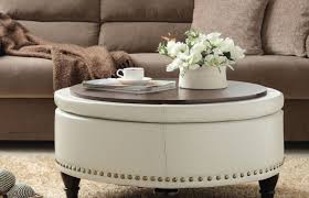 coffee tables leather ottoman coffee table refreshing ottoman