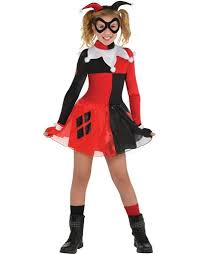 Catwoman Halloween Costume Party Girls Harley Quinn Dress Costume Batman Party