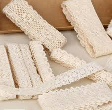 lace ribbon by the yard 30 yard diy handmade patchwork cotton material cotton lace ribbon