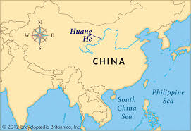 China On A Map by Remix Of