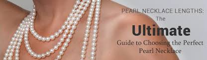 length pearl necklace images Choosing necklace length jpg