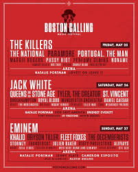 boston calling 2018 day by day lineups