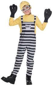 Minion Costume Ebay Despicable 3 Jail Minion Tom Child Costume Small Ebay
