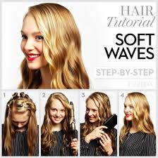 how to make hair soft soft curls 4 steps to wavy hair fashion magazine
