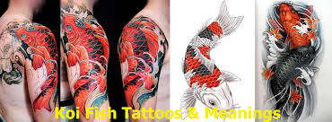 Different Koi Fish Meanings Koi Fish Tattoos Meanings Allcooltattoos Com
