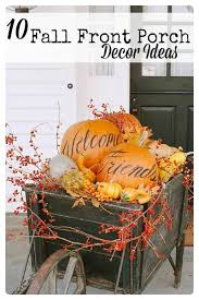 fall decorations ideas 10 front porch decorating ideas for fall tipsaholic
