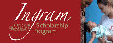 ingram scholarship application spring 2017