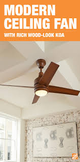 mercer 52 ceiling fan home decorators collection mercer 52 in led indoor distressed koa