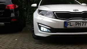 Kia Optima 2012 With 30xsmd Led 5050 Bulbs In The Foglights Youtube