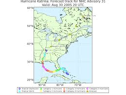 Lsu Map Lsu Earth Scan Laboratory Katrina 2005 Atlantic Basin