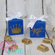 Prince Favors by 12 Small 3 5 Royal Blue Baby Shower Favors Prince Blue