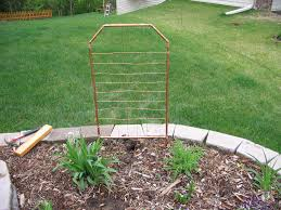 copper trellis for under 25 6 steps