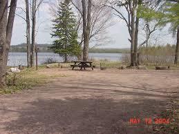 Michigan Campgrounds Map by Ottawa National Forest Bob Lake Campground