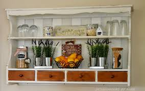 Diy Hutch Designdreams By Anne How To Make A Wall Shelf Out Of A Hutch