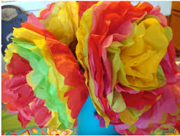 How To Make Mexican Paper Flowers - cinco de mayo traditional mexican folk art paper craft video