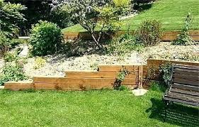 Retaining Garden Walls Ideas Wood Landscaping Wall Retaining Wall Wood Retaining Wall Designs