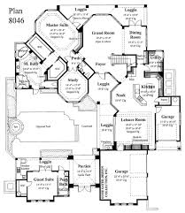 House Plans With Media Room Floor Plans Designed With The Master Suite On The Main Level Have