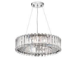 Kichler Lighting Chandelier by Crystal Skye Collection 8 Light Halogen Chandelier In Chrome
