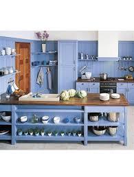 deco cuisine blanc et deco cuisine blanc et bois 7 cuisine bleu 25 id233es d233co