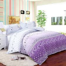 this purple floral bedding has a feminine design perfect for teen