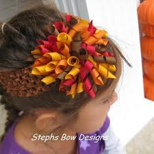 thanksgiving hair bows thanksgiving fall harvest korker hair bow