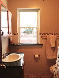 Bathroom Window Trim Trim Around Window That Has Tile Installed Halfway Up Recess