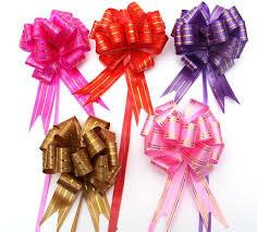 wedding gift bows aliexpress buy 60 x large 3x120cm pull bow wedding room