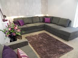 awesome gray and purple living room contemporary rugoingmyway us
