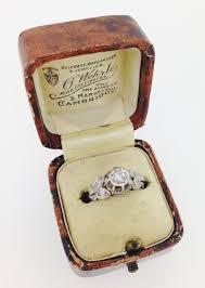 art deco skeleton ring holder images Art deco diamond solitaire ring c 1925 france from sally jpg