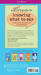 a smart s guide to knowing what to say finding the words to