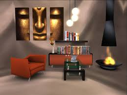 luxury living room design modern apartment with mini bar home