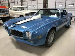 New Trans Am Car 1971 Pontiac Firebird For Sale On Classiccars Com 13 Available